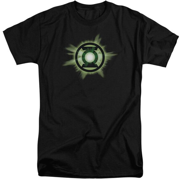 Green Lantern Green Glow Short Sleeve Adult Tall T-Shirt