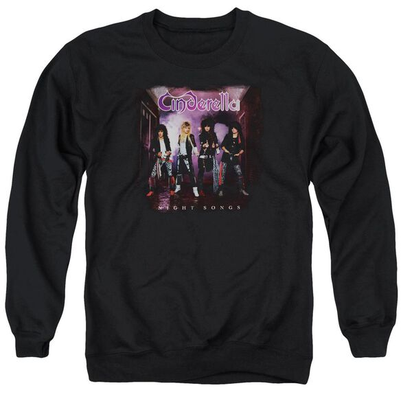 Cinderella Night Songs Adult Crewneck Sweatshirt