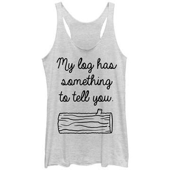 Twin Peaks My Log Has Tank Top Juniors T-Shirt
