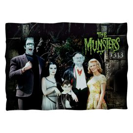 The Munsters Family Pillow Case