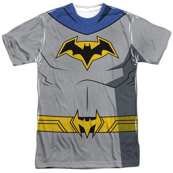 Batman Unlimited Batman Uniform Short Sleeve Adult Poly Crew T-Shirt