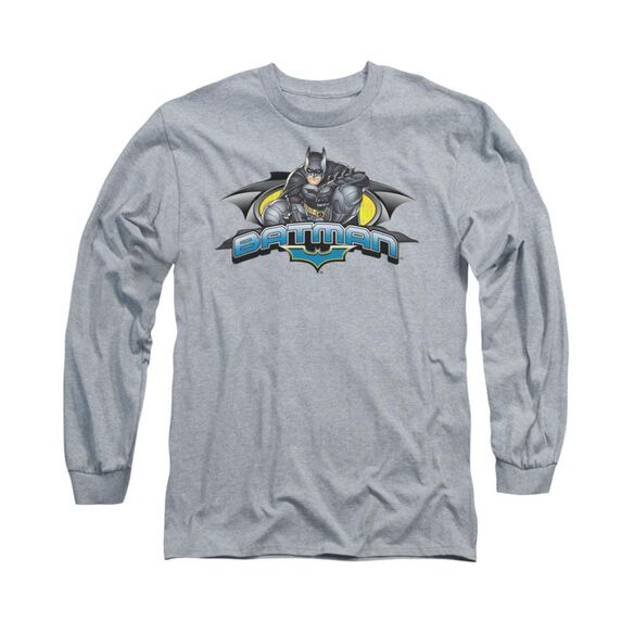 Dark Knight Crouched Knight Long Sleeve Adult Athletic T-Shirt