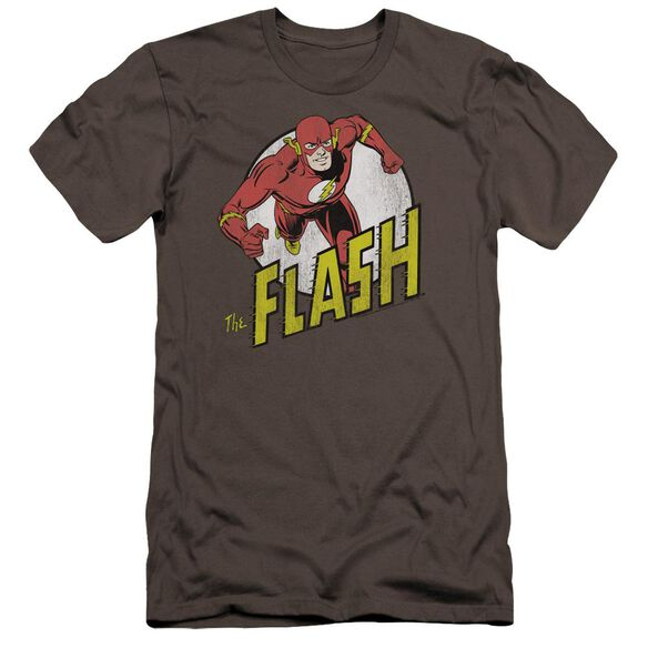 Dc Flash Run Flash Run-premuim Canvas Adult Slim