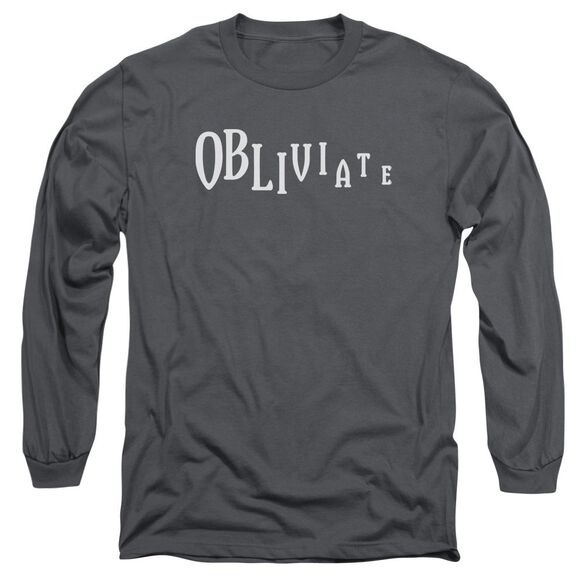 Harry Potter Obliviate Long Sleeve Adult T-Shirt