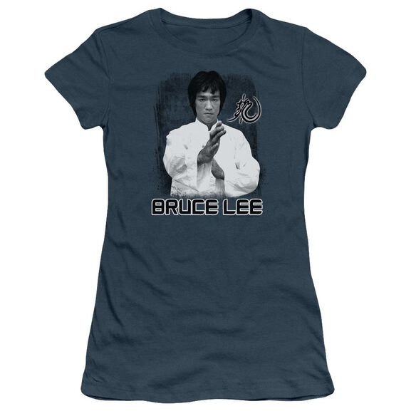 Bruce Lee Concentrate Short Sleeve Junior Sheer T-Shirt