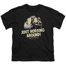 Abbott & Costello Horsing Around Short Sleeve Youth T-Shirt