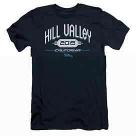 BACK TO THE FUTURE II HILL VALLEY 2015 - S/S ADULT 30/1 - NAVY T-Shirt