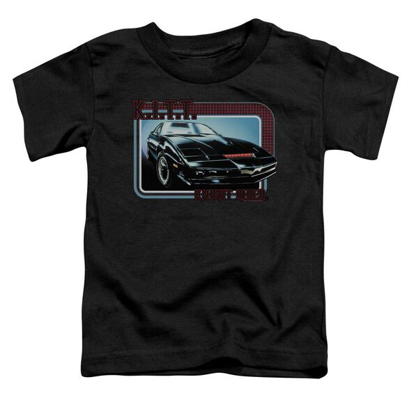 Knight Rider Kitt Short Sleeve Toddler Tee Black T-Shirt