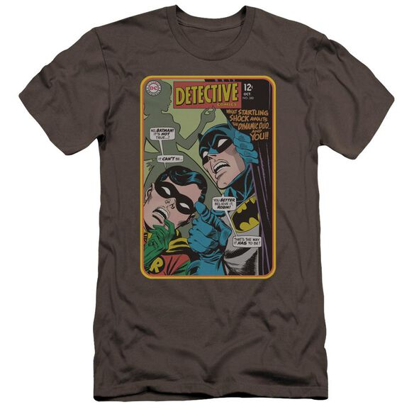 Batman Detective #380 Premuim Canvas Adult Slim Fit