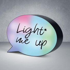 Mini Speech Bubble LED Light Box - Color Changing
