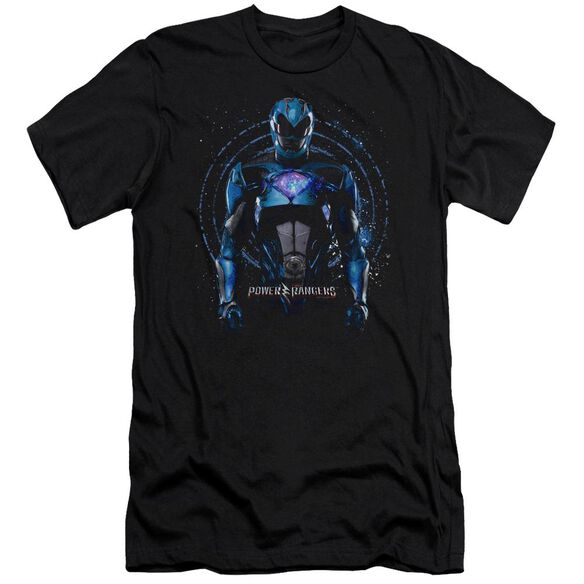 Power Rangers Blue Ranger Short Sleeve Adult T-Shirt