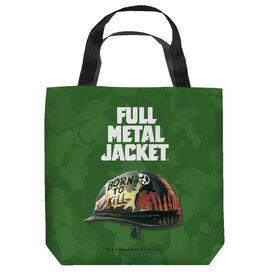 Full Metal Jacket Poster Tote