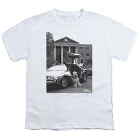 Back To The Future Ii Einstein Short Sleeve Youth T-Shirt