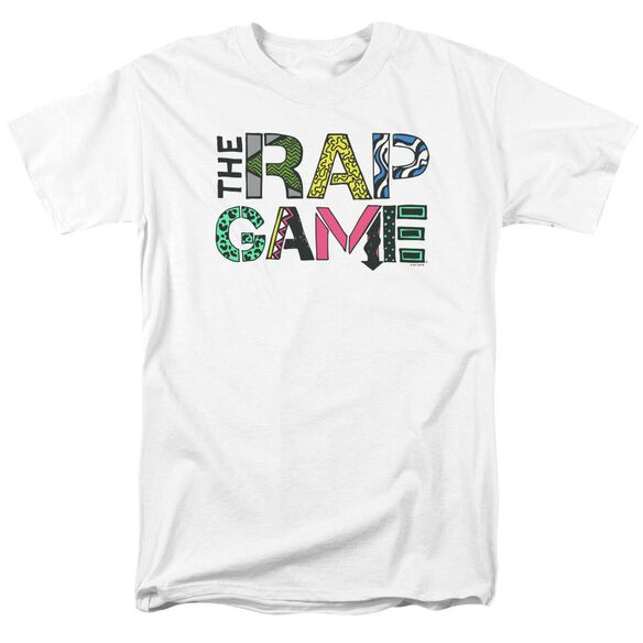 The Rap Game The Rap Game Logo Short Sleeve Adult T-Shirt