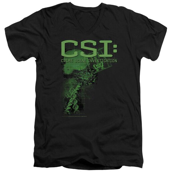 Csi Evidence Short Sleeve Adult V Neck T-Shirt