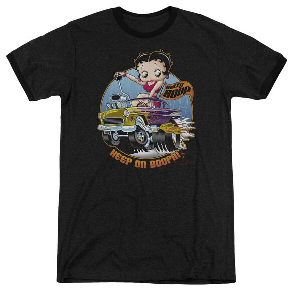 Betty Boop Keep On Boopin Adult Heather Ringer