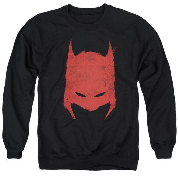 Batman Hacked &Amp; Scratched Adult Crewneck Sweatshirt