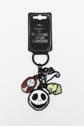 The Nightmare Before Christmas Charm Keychain
