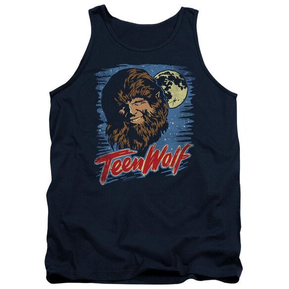 Teen Wolf Moon Wolf Adult Tank