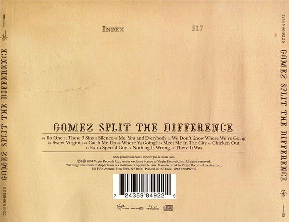 Split The Difference0504
