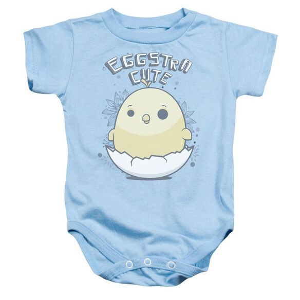 Eggstra Cute Infant Snapsuit Light Blue