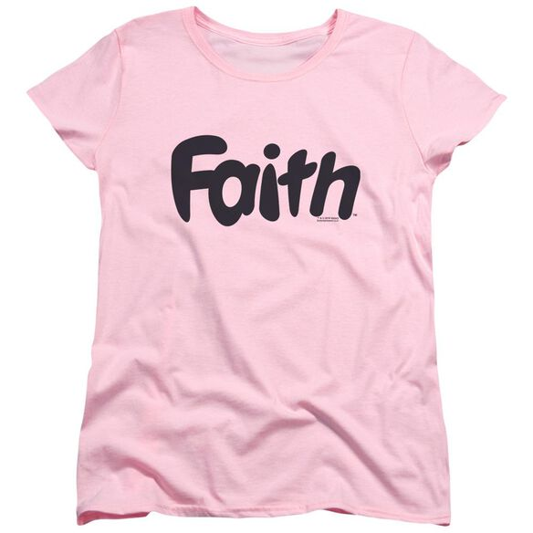 Valiant Faith Logo Short Sleeve Womens Tee T-Shirt