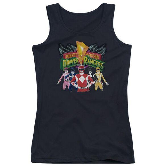 Power Rangers Rangers Unite Juniors Tank Top