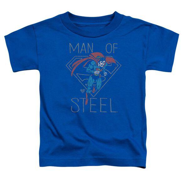 Dc Hardened Heart Short Sleeve Toddler Tee Royal Blue T-Shirt