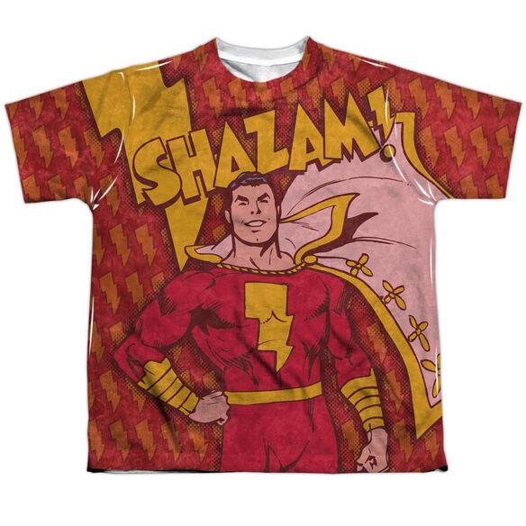 DC SHAZAM BOLTS-S/S YOUTH T-Shirt