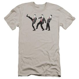 Mr Bean Walk Like A Bean Premuim Canvas Adult Slim Fit