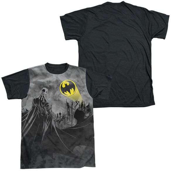 Batman Heed The Call Short Sleeve Adult Front Black Back T-Shirt