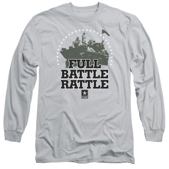 Army Full Battle Rattle Long Sleeve Adult T-Shirt