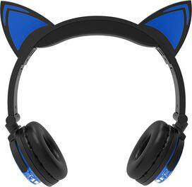 Bluetooth Cat Ear Headphones [Blue]
