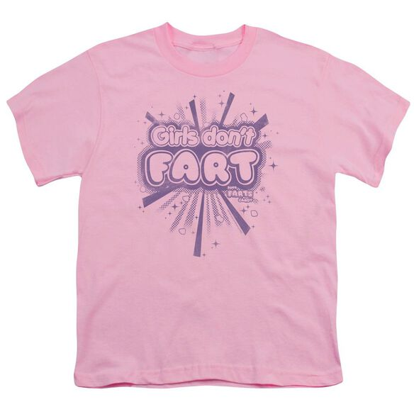 Farts Candy Girls Don't Fart Short Sleeve Youth T-Shirt