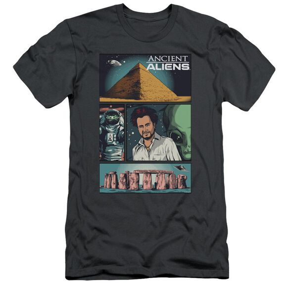 Ancient Aliens Aliens Comic Page Short Sleeve Adult T-Shirt