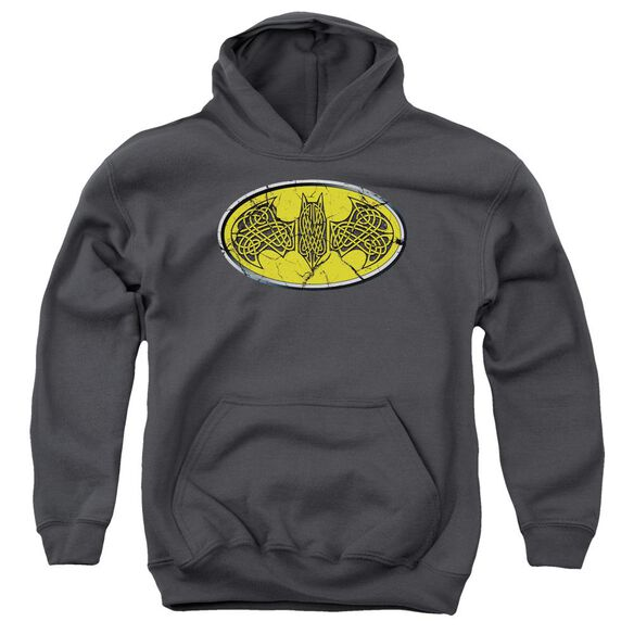 Batman Celtic Shield Youth Pull Over Hoodie