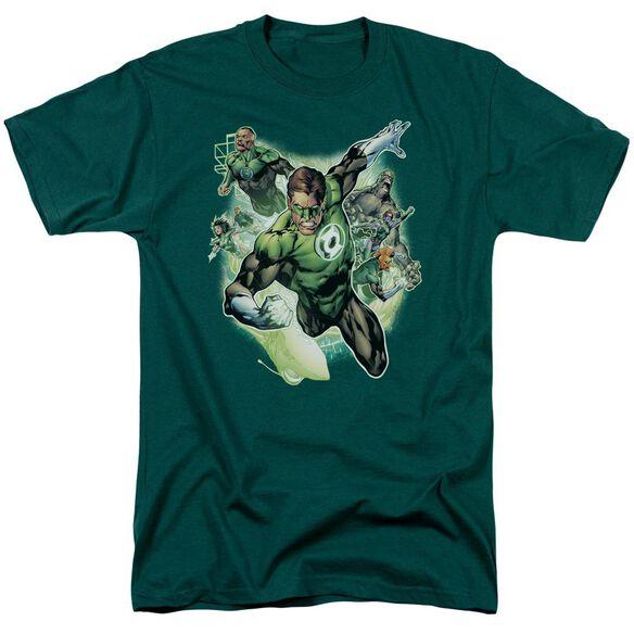 Jla Flying Corps Short Sleeve Adult Hunter T-Shirt