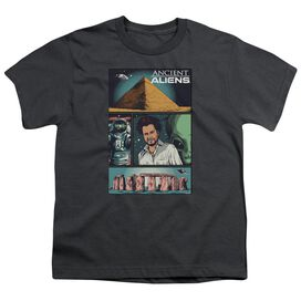 Ancient Aliens Aliens Comic Page Short Sleeve Youth T-Shirt