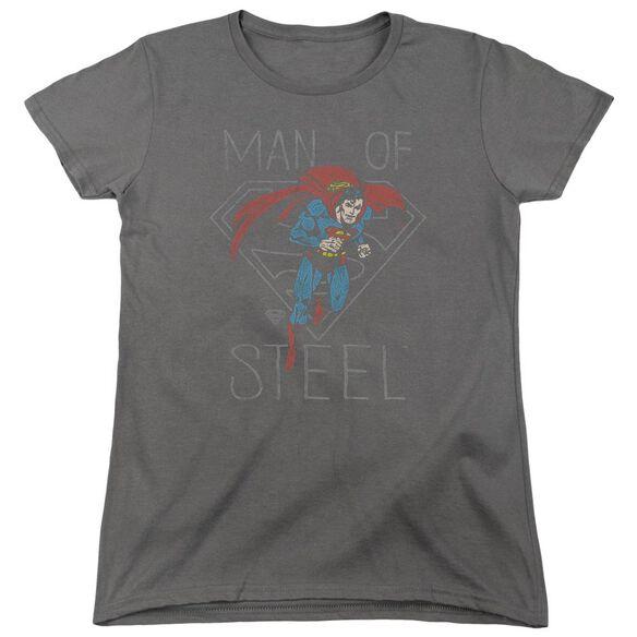 Dc Hardened Heart Short Sleeve Womens Tee T-Shirt