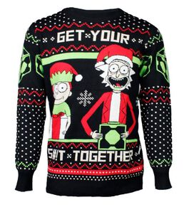 Rick & Morty - Get Your S#!T Together Christmas Sweater