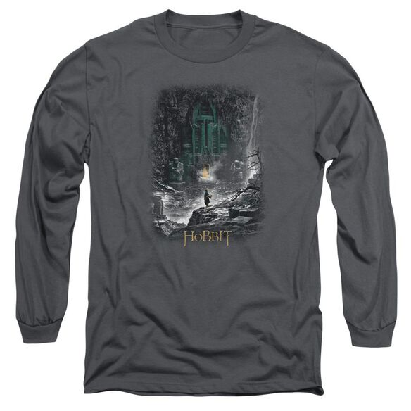 Hobbit Second Thoughts Long Sleeve Adult T-Shirt
