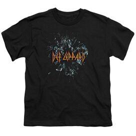 Def Leppard Broken Glass Short Sleeve Youth T-Shirt