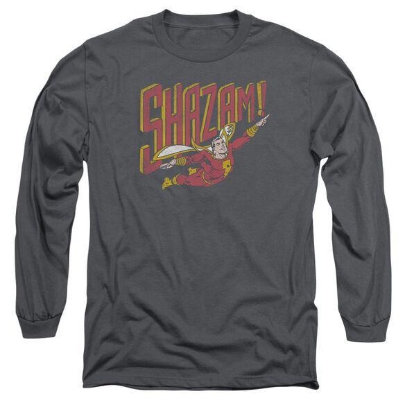 Dc Retro Marvel Long Sleeve Adult T-Shirt