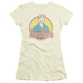 Archie Comics Achie Distressed Short Sleeve Junior Sheer T-Shirt