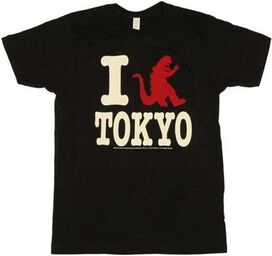 Godzilla I Tokyo T-Shirt Sheer
