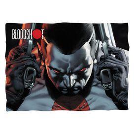 Bloodshot Guns Drawn (Front Back Print) Pillow Case White