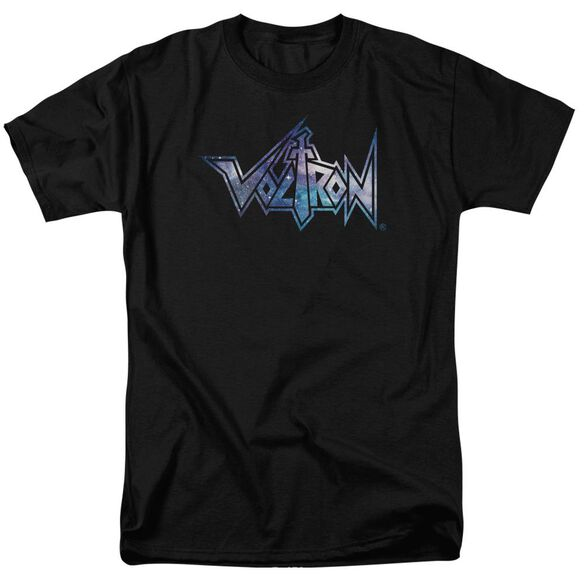 Voltron Space Logo Short Sleeve Adult T-Shirt
