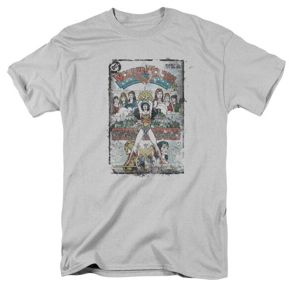 Dc Vol 1 Cover Short Sleeve Adult Silver T-Shirt