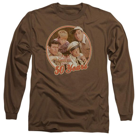 Andy Griffith 50 Years Long Sleeve Adult T-Shirt