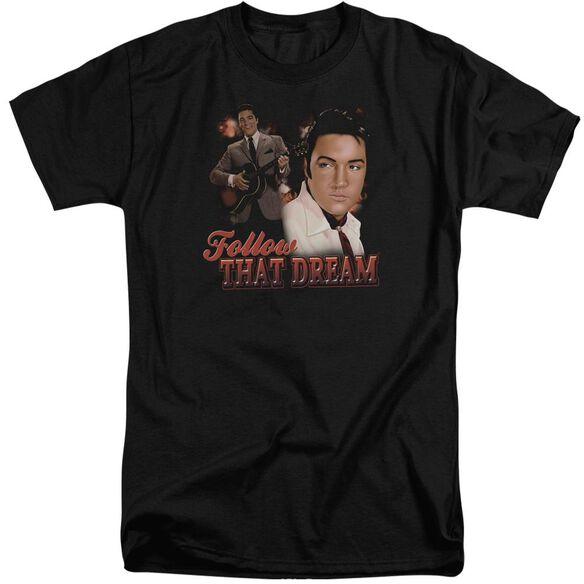 Elvis Follow That Dream Short Sleeve Adult Tall T-Shirt